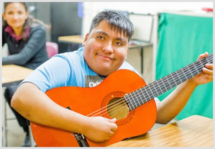 Music Help Students With Special Need